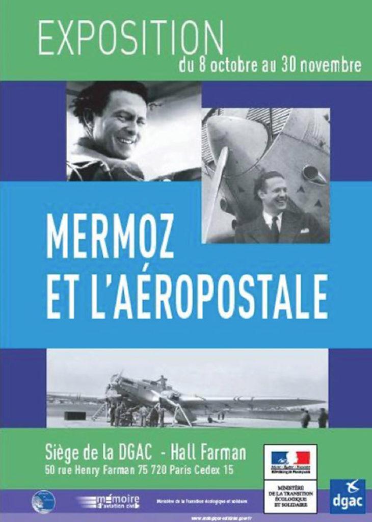 """Exposition """"Mermoz et l'Aéropostale"""""""