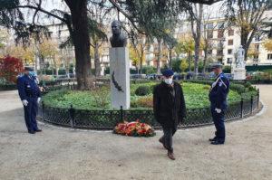 """Cérémonie """"84ème anniversaire de la disparition de la Croix du Sud"""" Neuilly - Décembre 2020"""